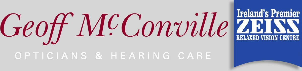 Geoff McConville Opticians in Belfast Logo
